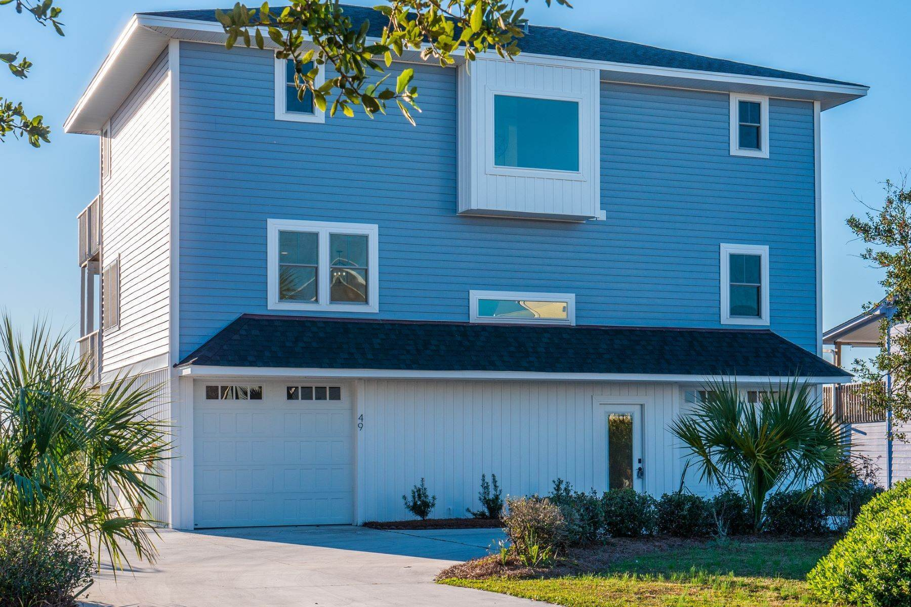 Single Family Homes for Sale at Beach Perfection From Every View 49 N Ridge Surf City, North Carolina 28445 United States