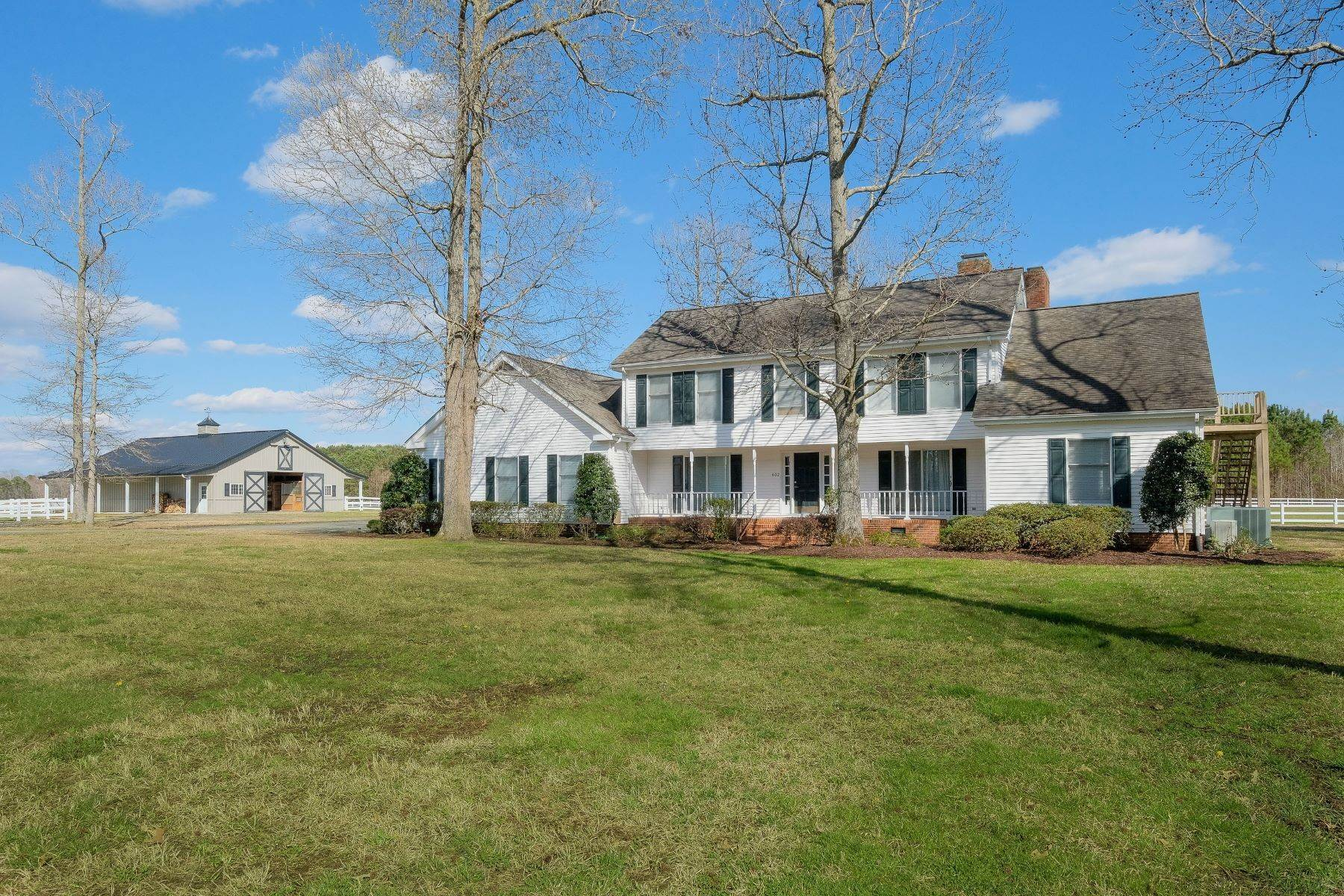 4. Single Family Homes for Sale at Equestrian Family Fun 632 Poplar Neck Road Edenton, North Carolina 27932 United States